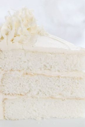 Calling all coconut lovers! THIS is the cake for you!
