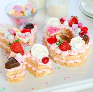 XO Valentine's Day Dessert