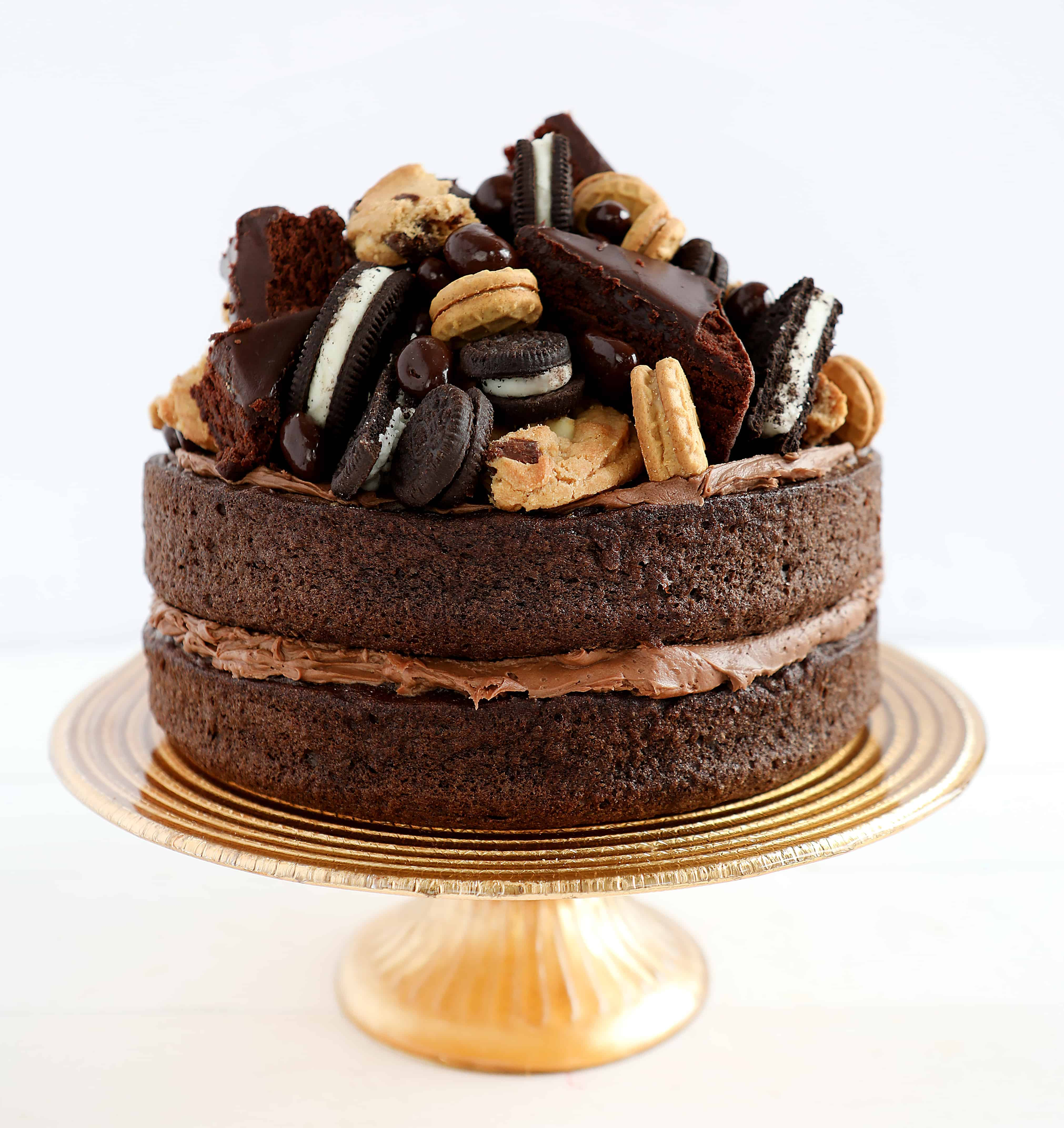 Ultimate Chocolate Candy Cake