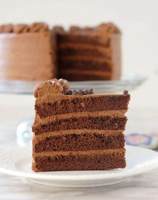 Genoise Almond Cake Recipe