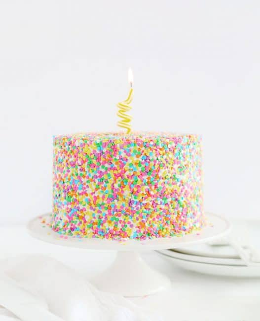 How to Decorate a Sprinkles Cake