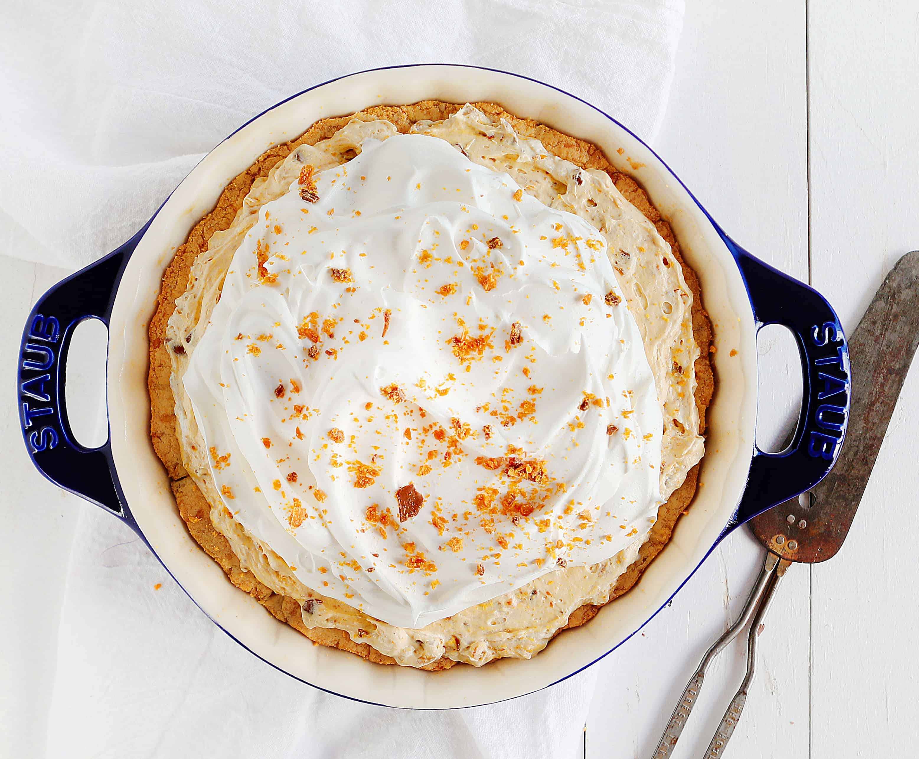 How to Make Butterfinger Pie
