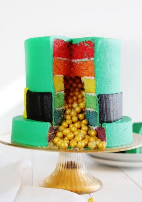 St. Patty's Cake Cake - Leprechaun Hat