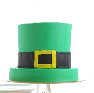Leprechaun Hat Cake