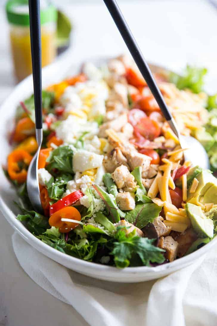 Deluxe Cobb Salad I Am Baker Bloglovin Fancy Feast Chunky Chopped Grilled 85g 6 Pcs Free Pouch