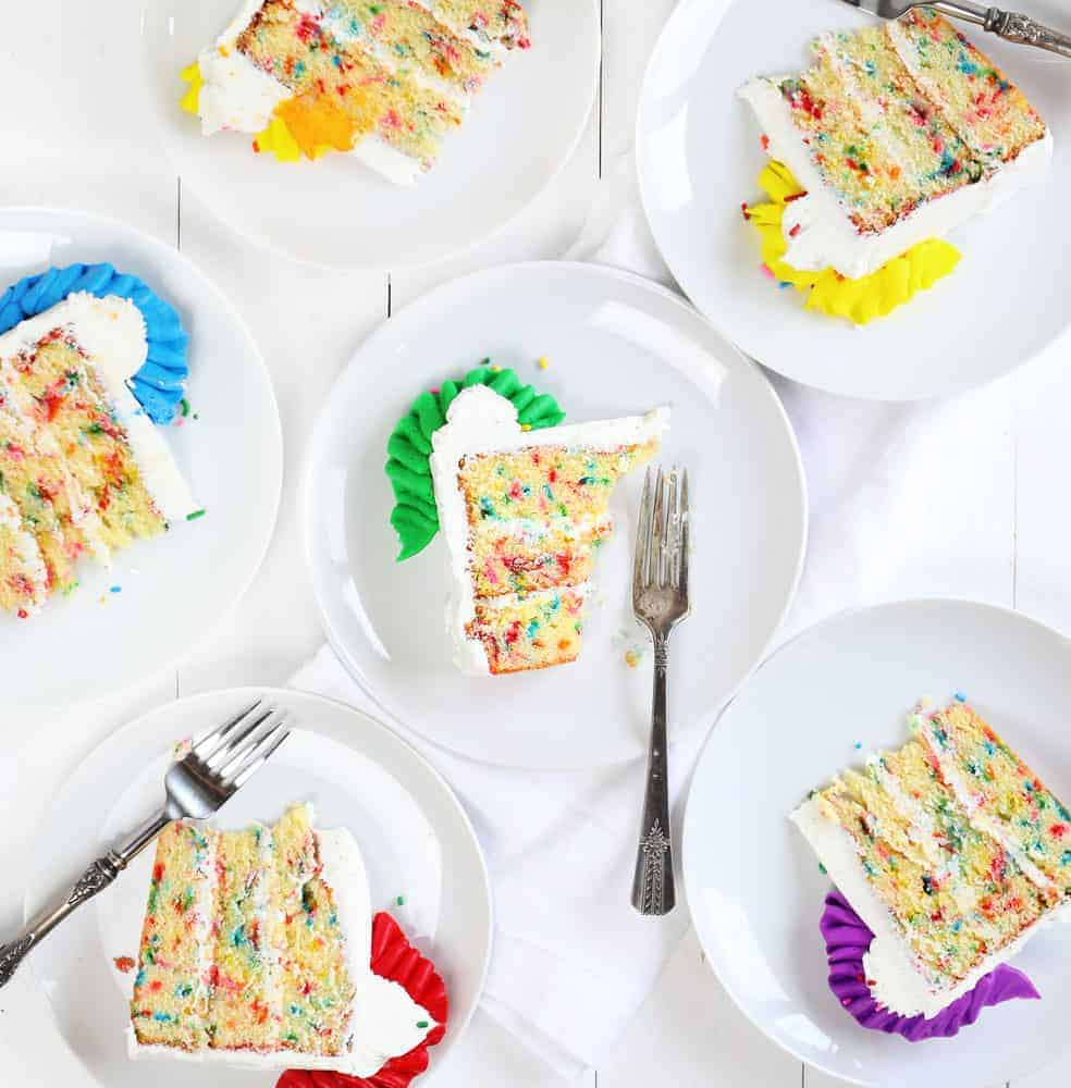 Funfetti Cake - the Perfect Birthday Cake!