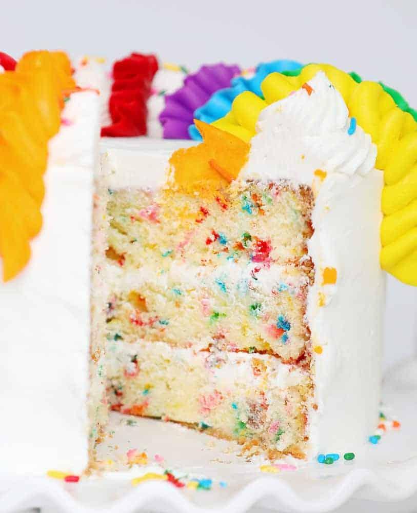 Funfetti Cake Recipe