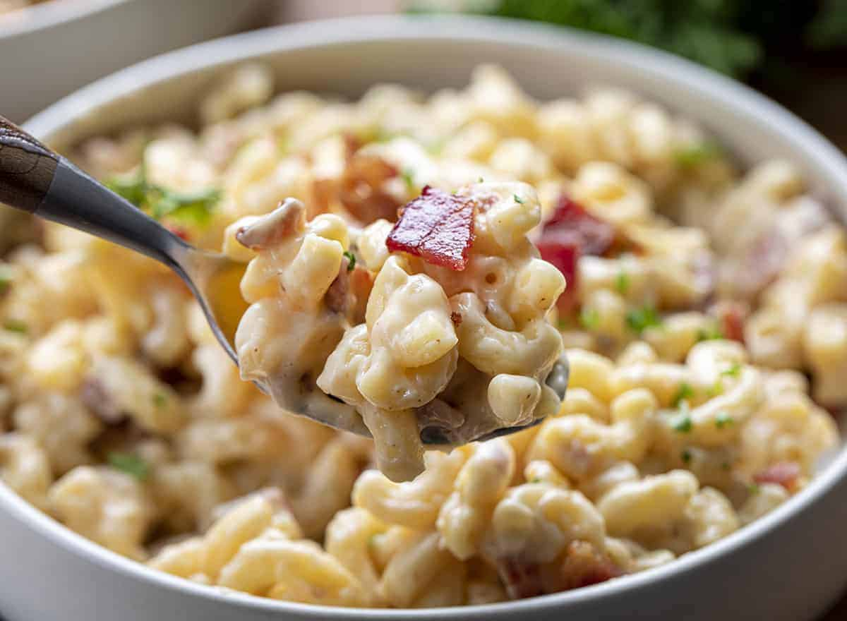 Spoonful of Bacon Macaroni and Cheese