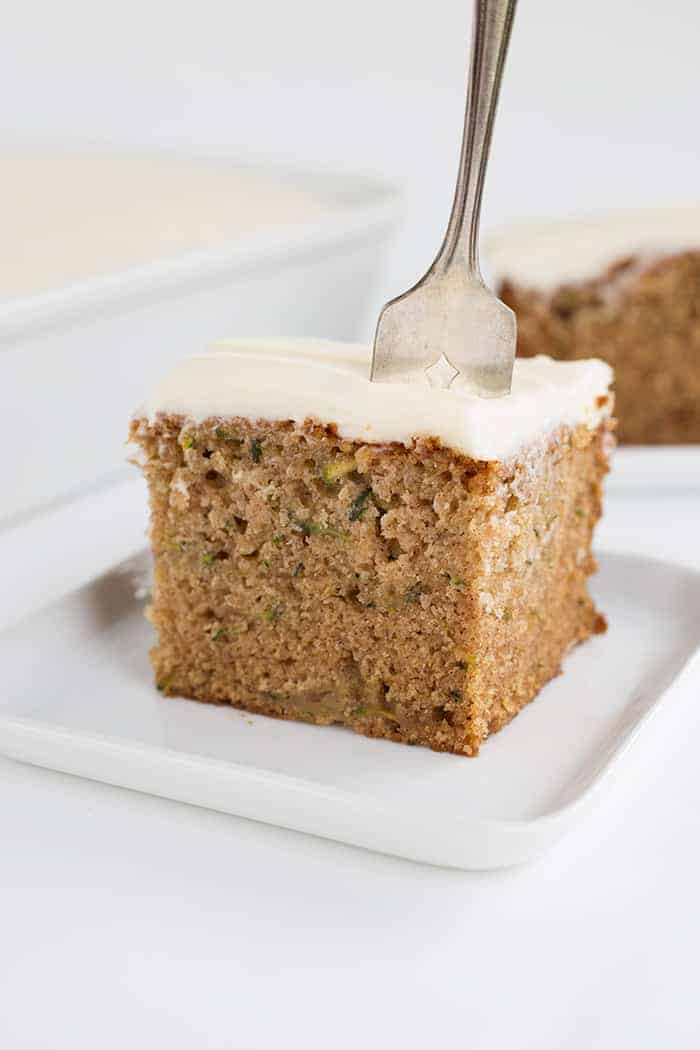 Moist Zucchini Cake Recipe