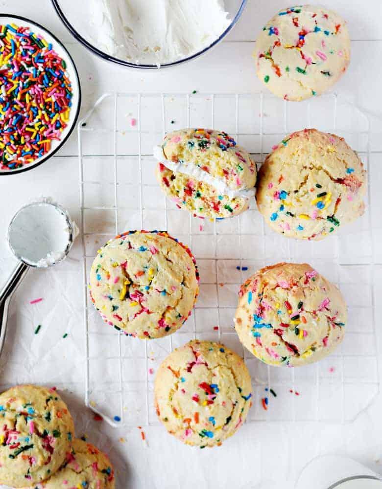 Easy Birthday Cake Cookies