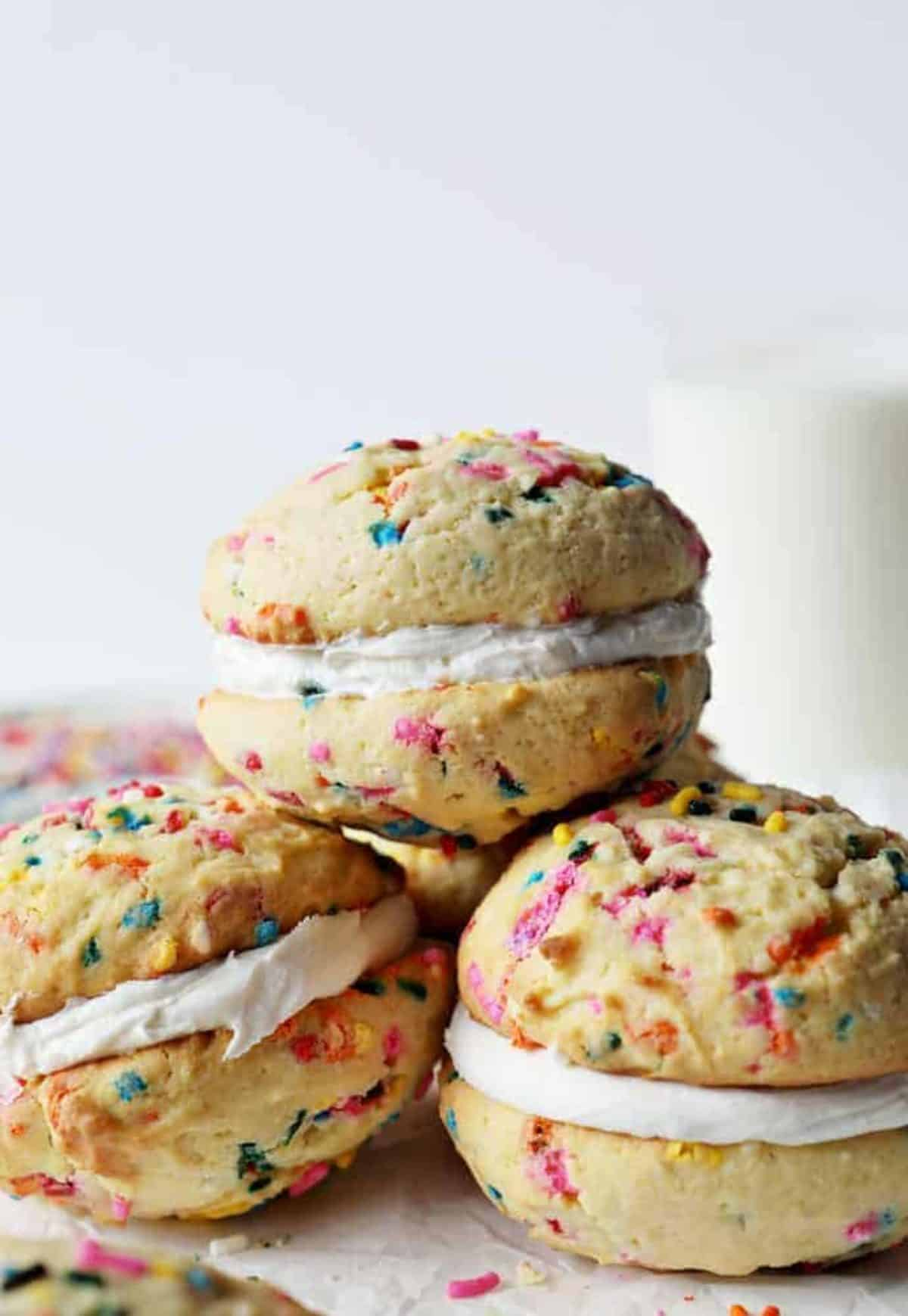 Miraculous Birthday Cake Cookie Sandwiches I Am Baker Funny Birthday Cards Online Sheoxdamsfinfo