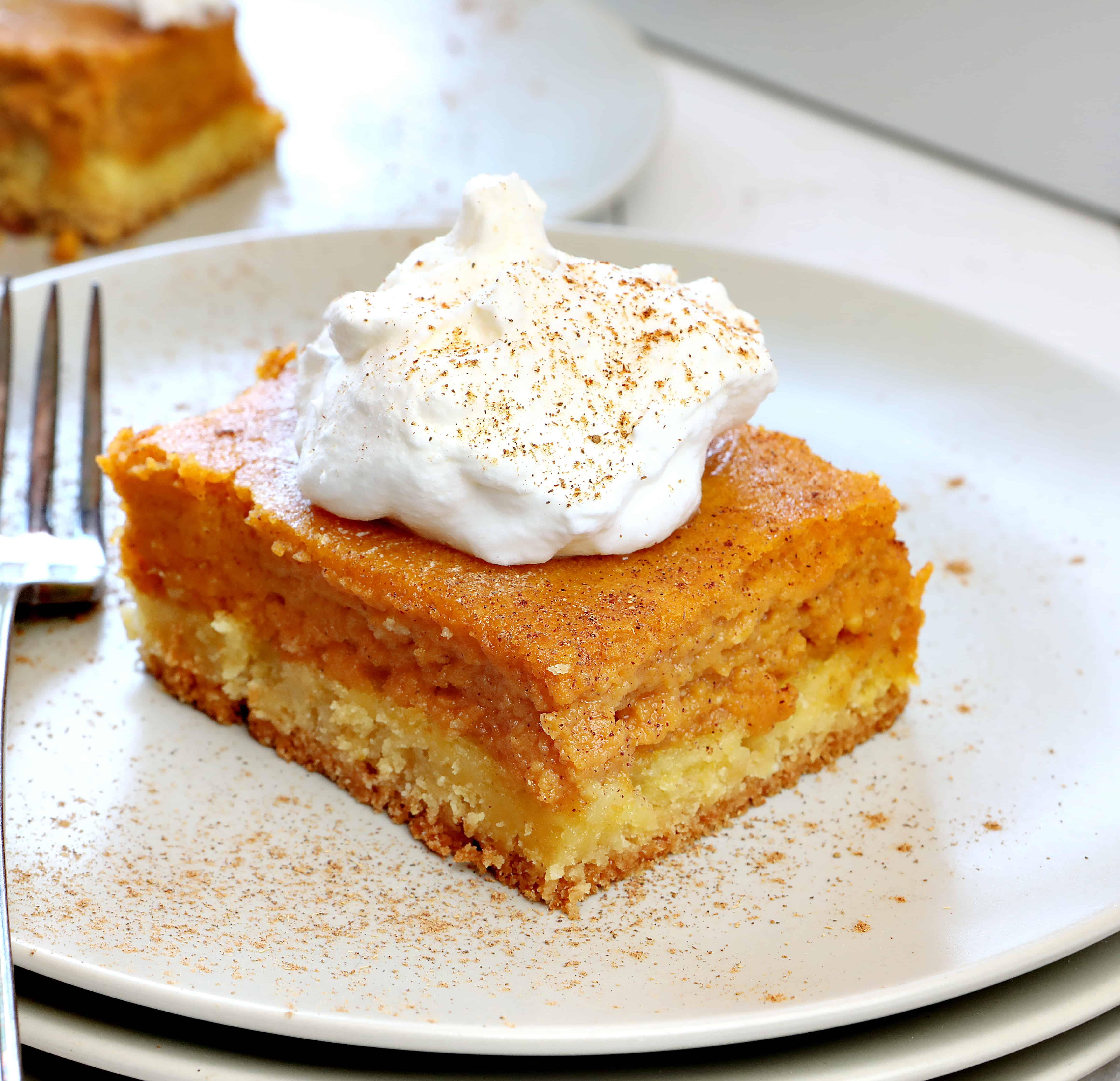 Pumpkin Ooey Gooey Cake