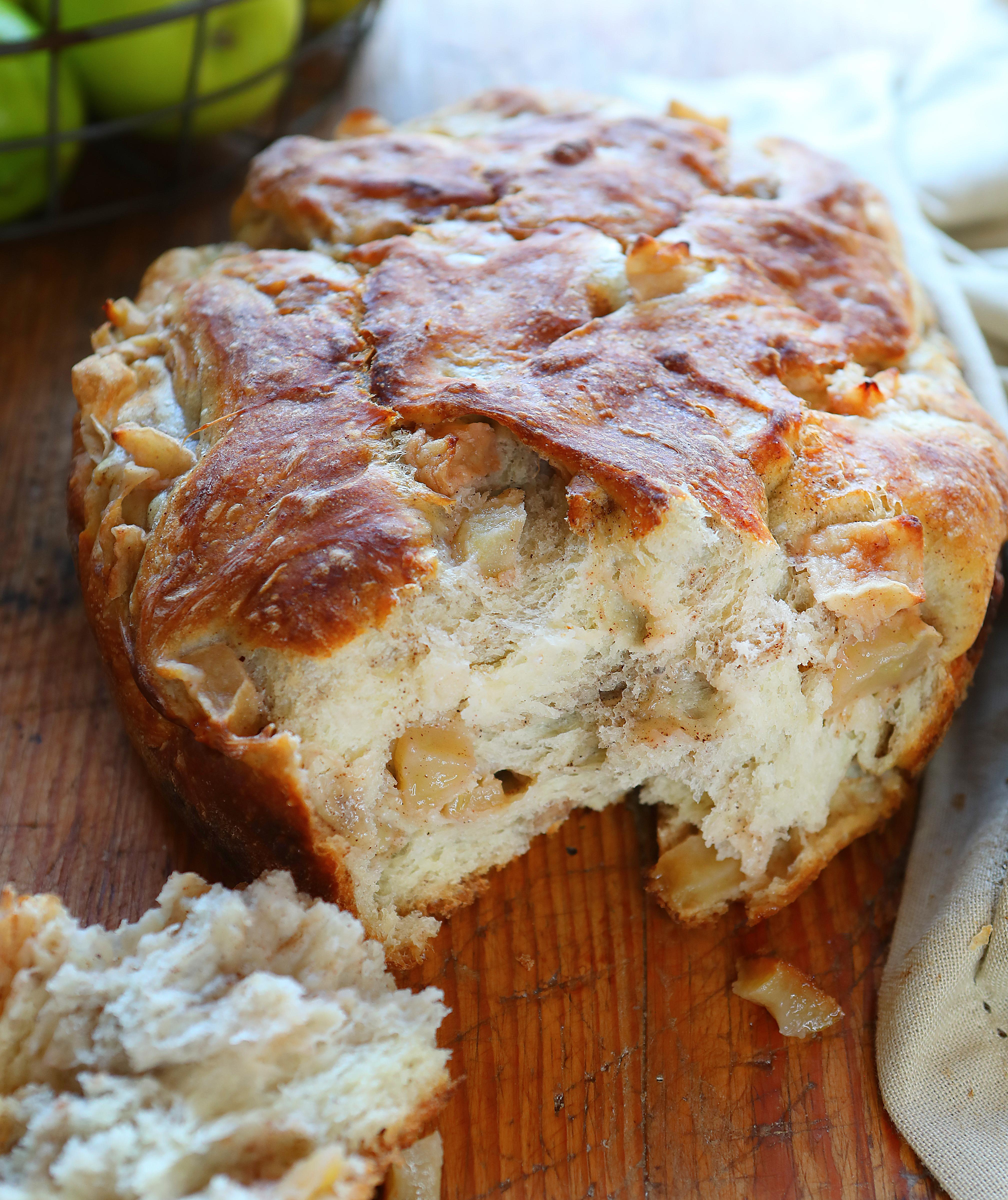 Artisan Apple Bread I Am Baker