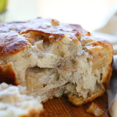 Artisan Apple Bread