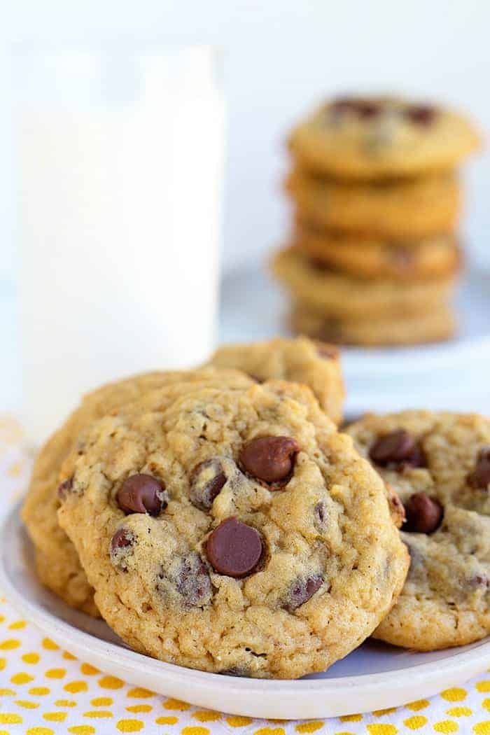 Banana Cookies with Chocolate