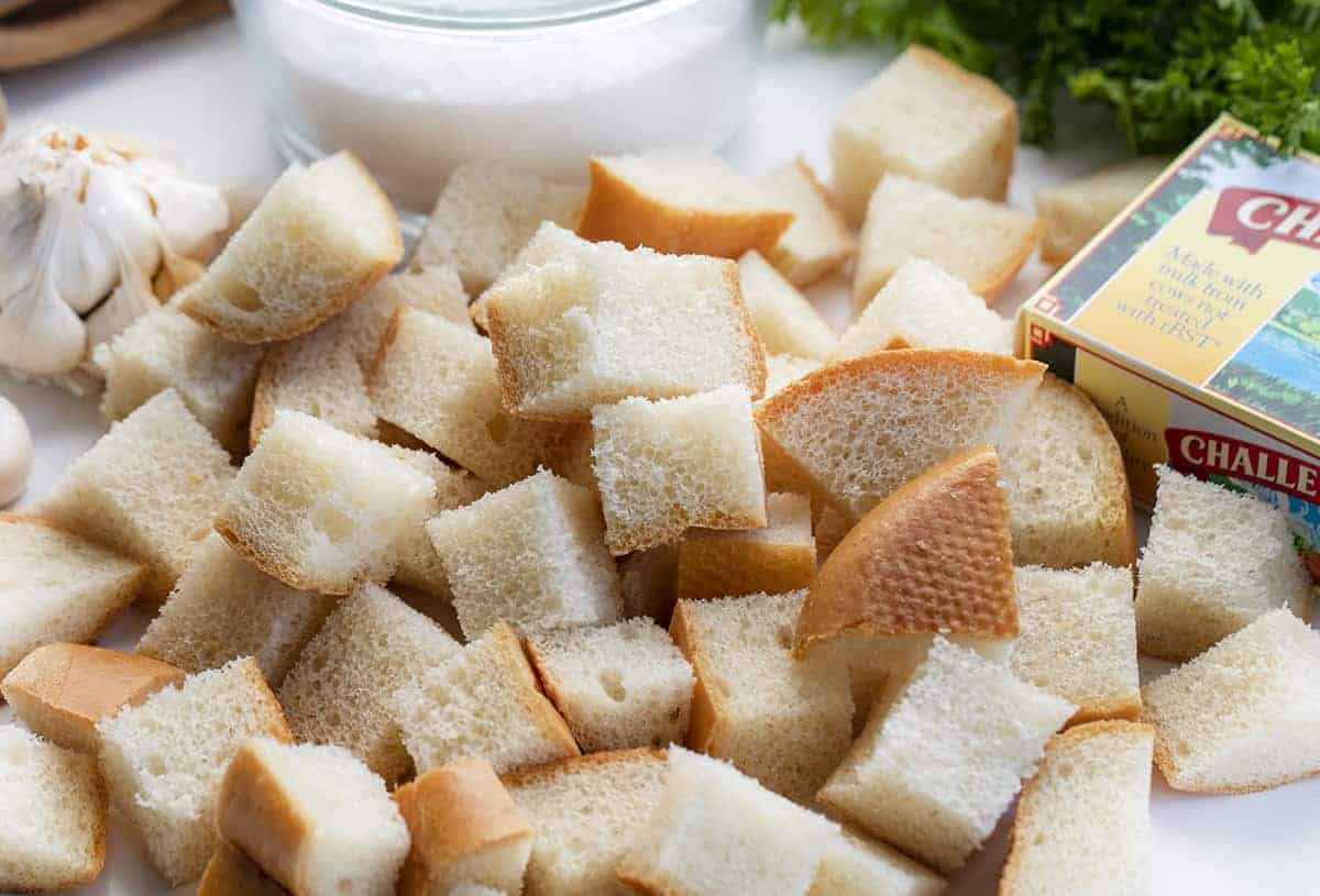 Ingredients for Croutons