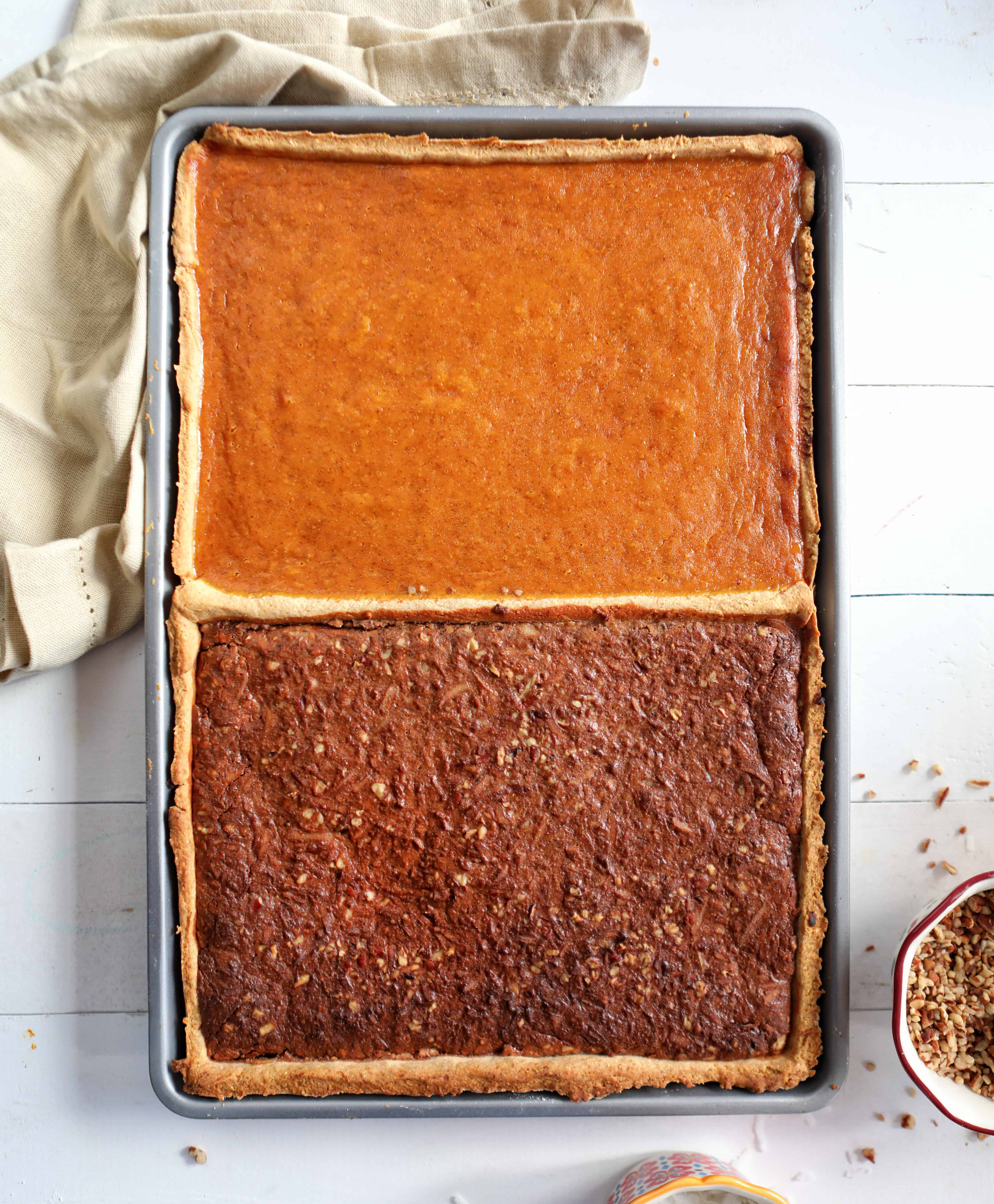 German Chocolate Pumpkin Pie