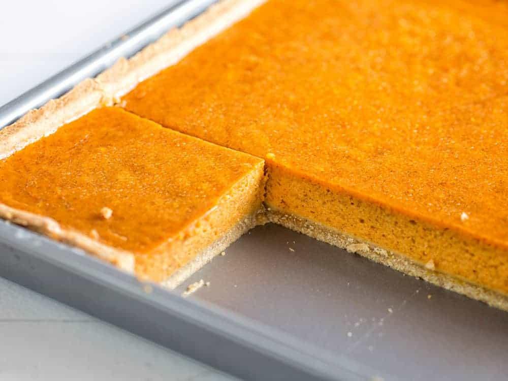 Pumpkin Slab Pie Recipe