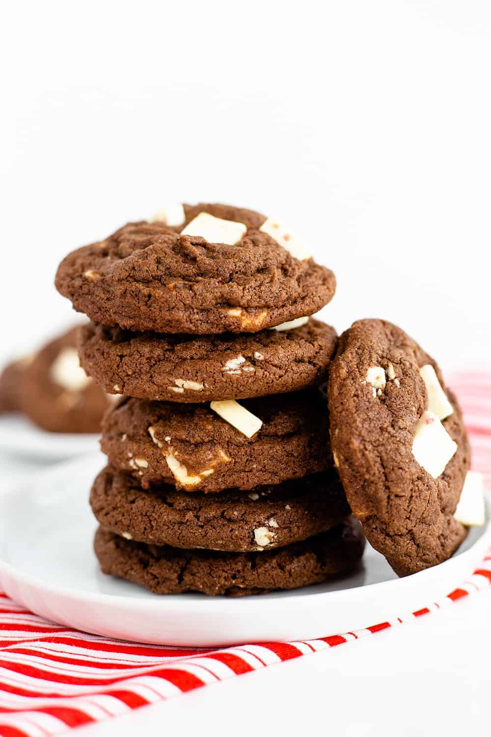 The Best Chocolate Peppermint Cookies