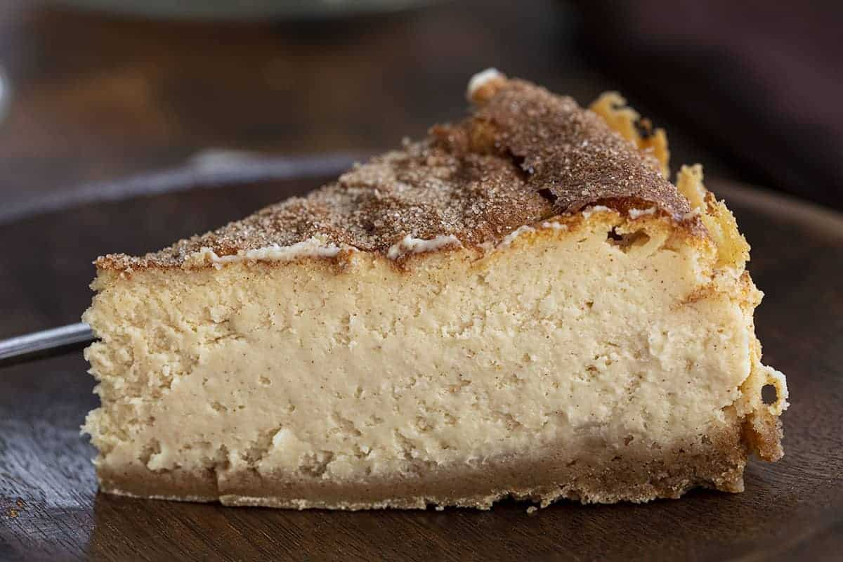 One Slice of Snickerdoodle Cheesecake