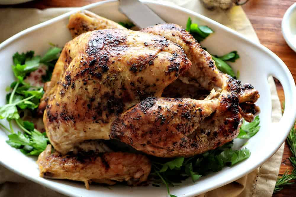 Herb Butter Roast Turkey Recipe