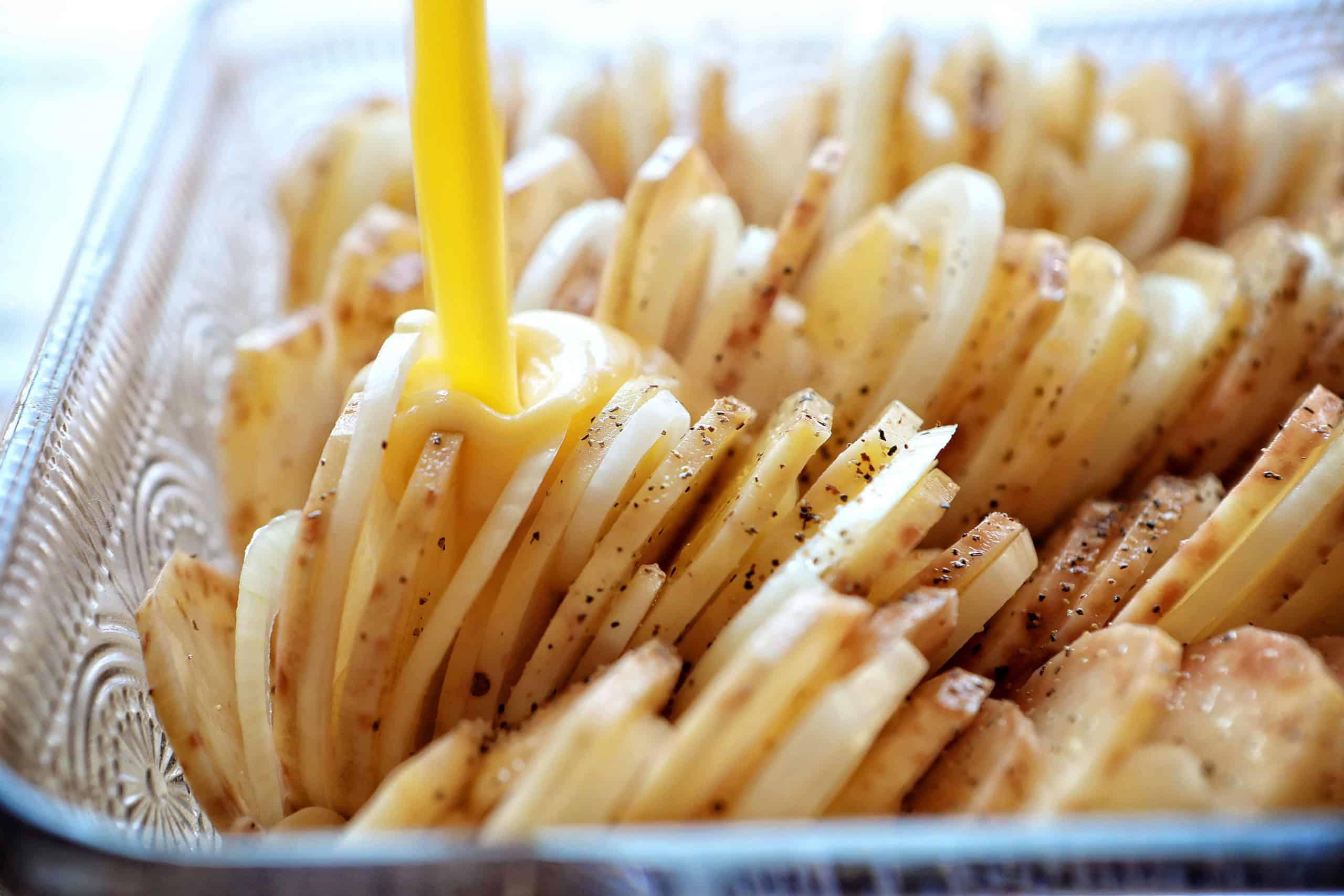 Cheesy Sauce for Au Gratin Potatoes