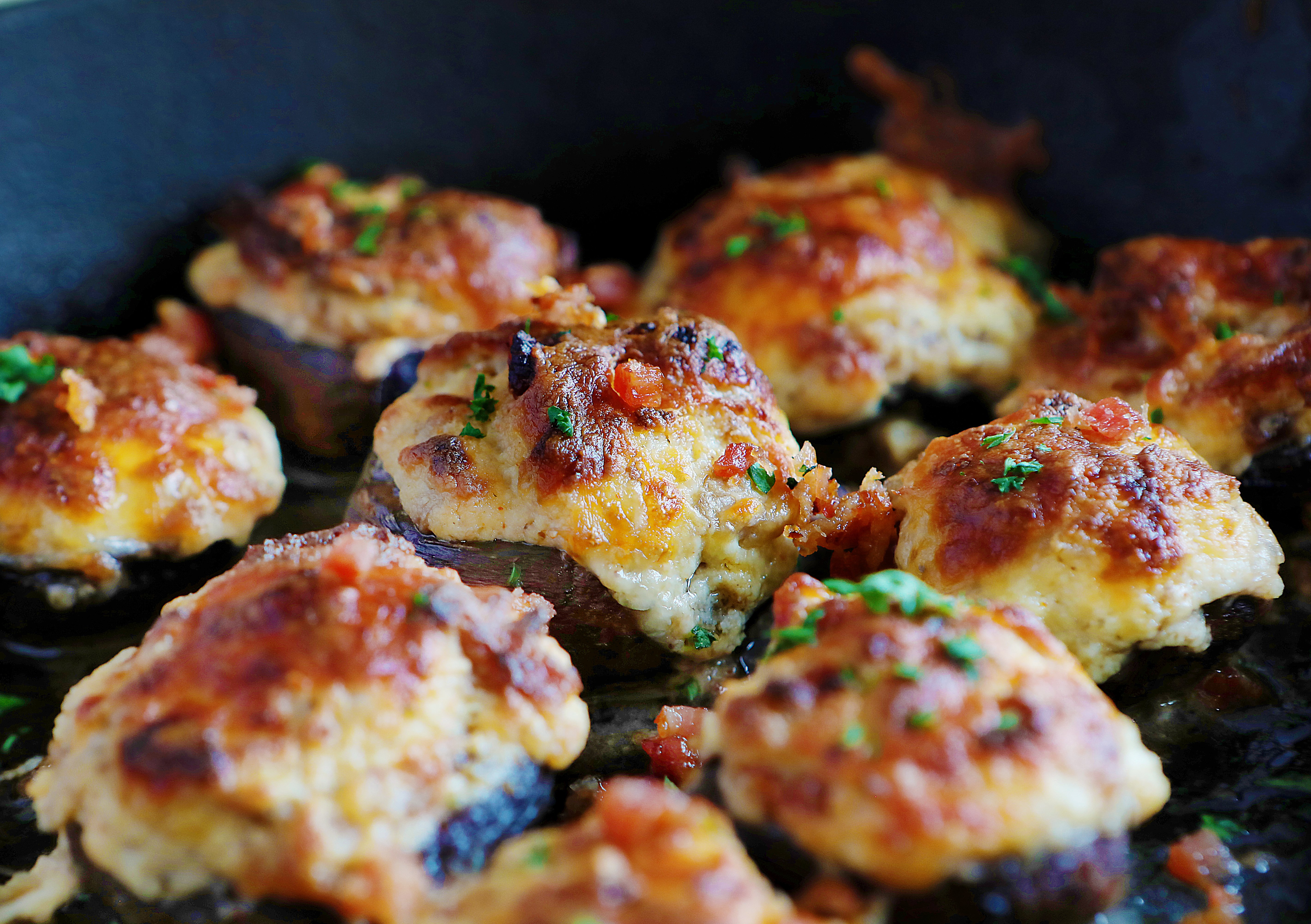 How to Make Bacon Stuffed Mushroom Appetizer