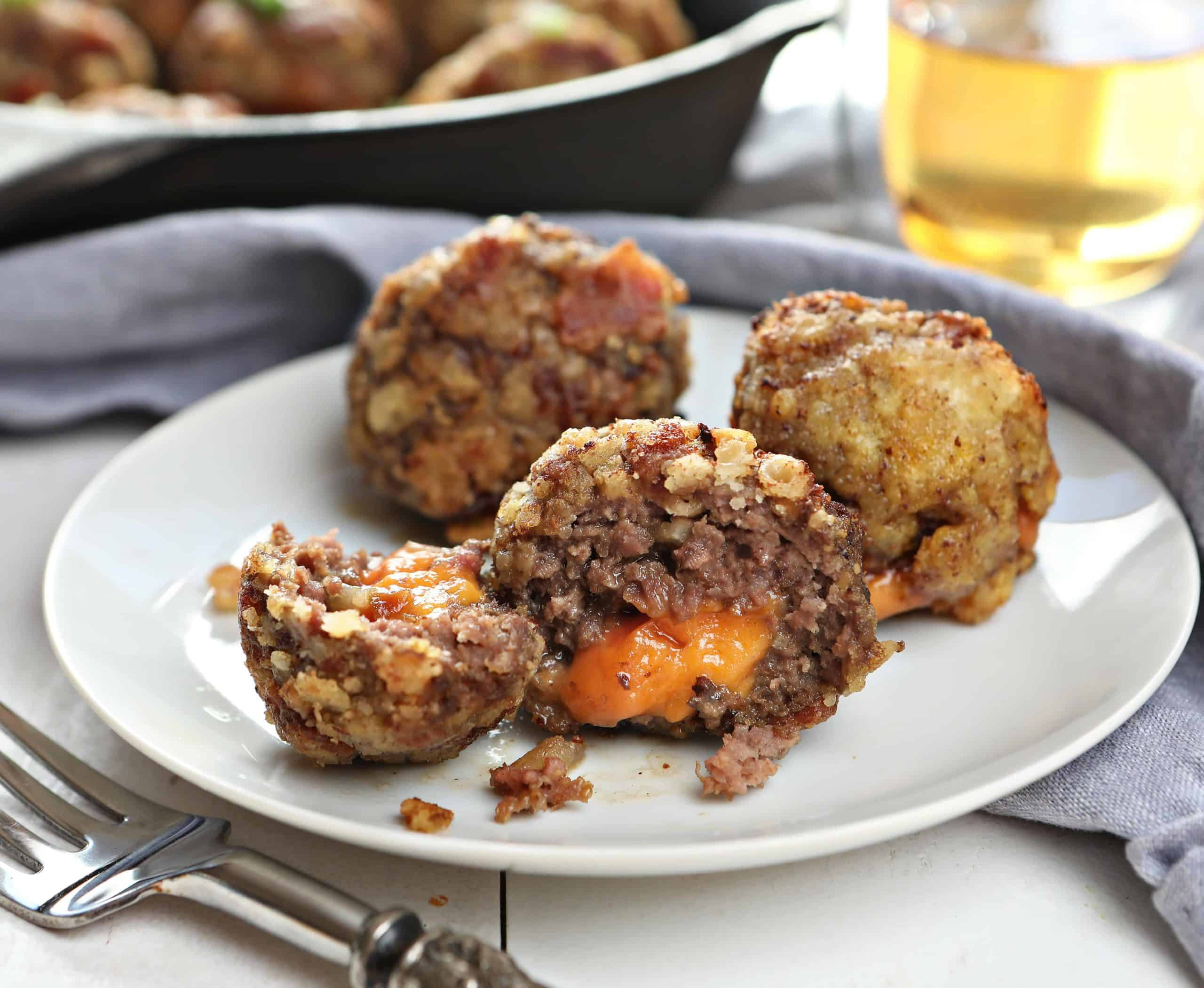 How to Make Cheeseburger Meatballs