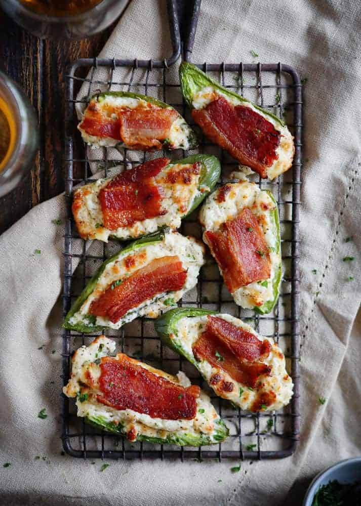 Bacon Jalapeno Poppers are the perfect appetizer!