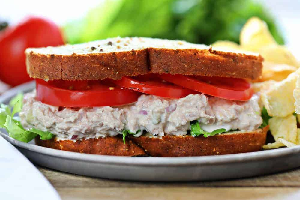 Tuna Salad Sandwich I Am Baker