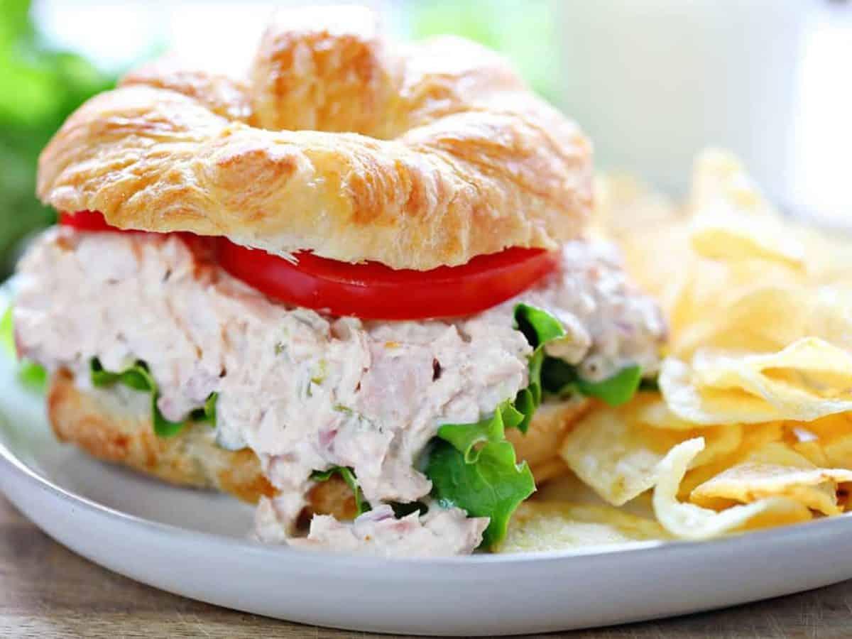 Tuna Salad Sandwich I Am Baker