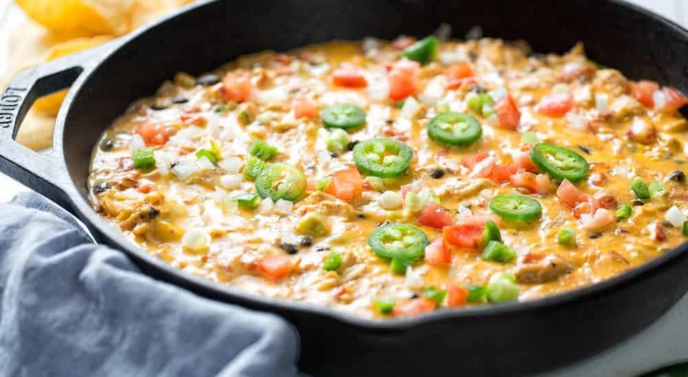 Chicken and Velveeta Cheese Dip
