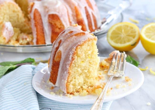 Lemon Pound Cake {VIDEO}