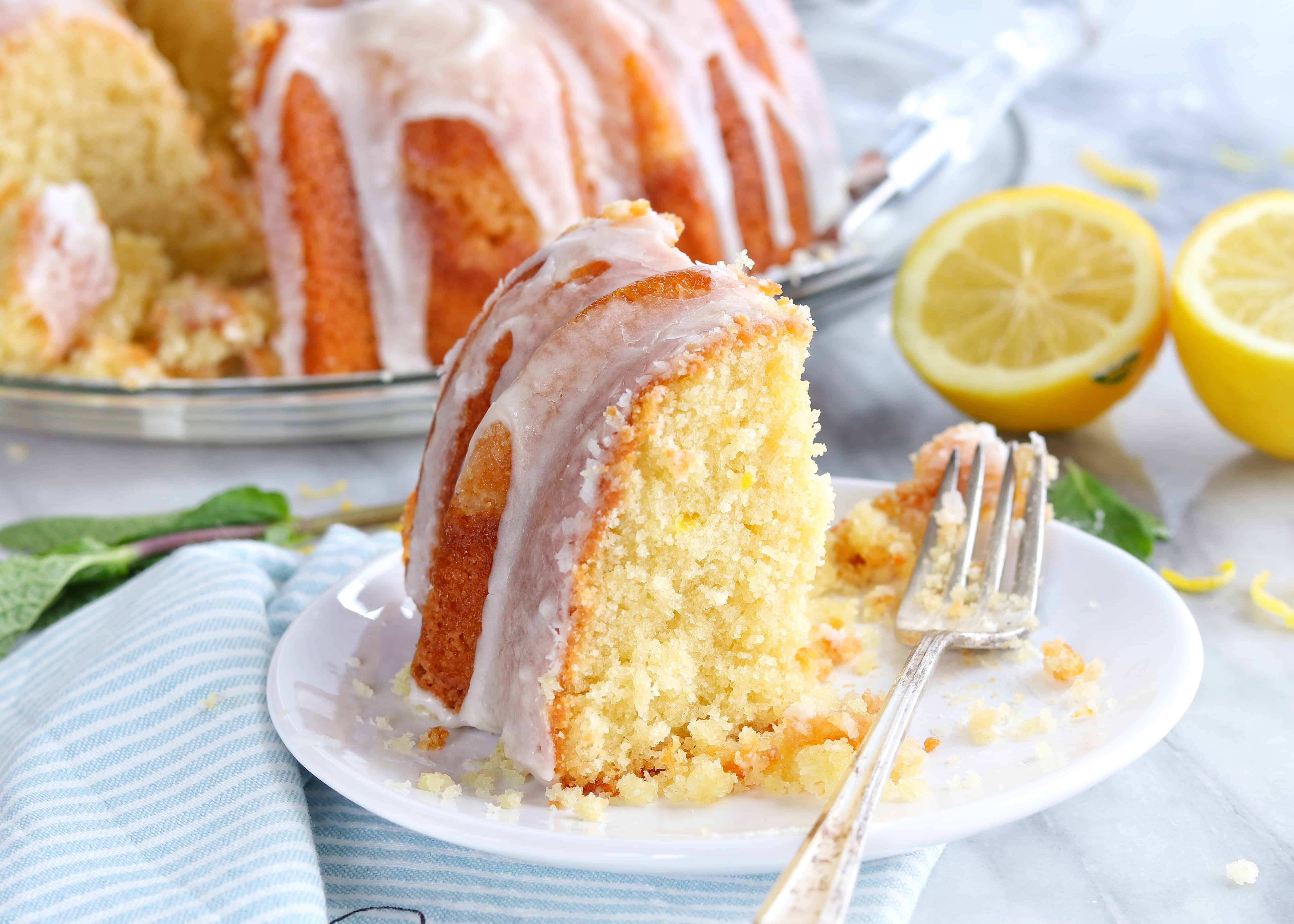 My favorite Lemon Pound Cake of all time!