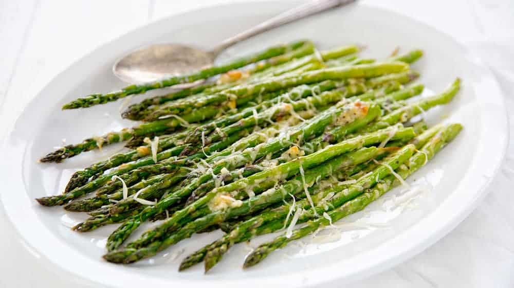 Garlic Roasted Asparagus I Am Baker
