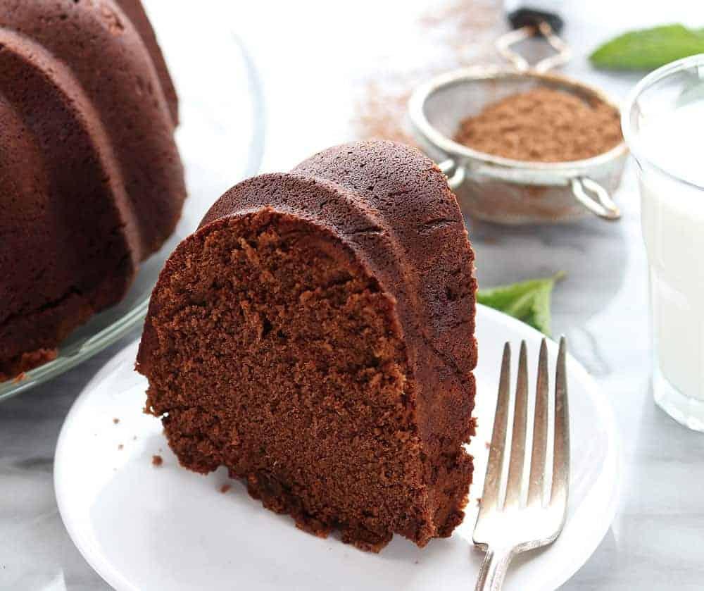 The Best Chocolate Pound Cake