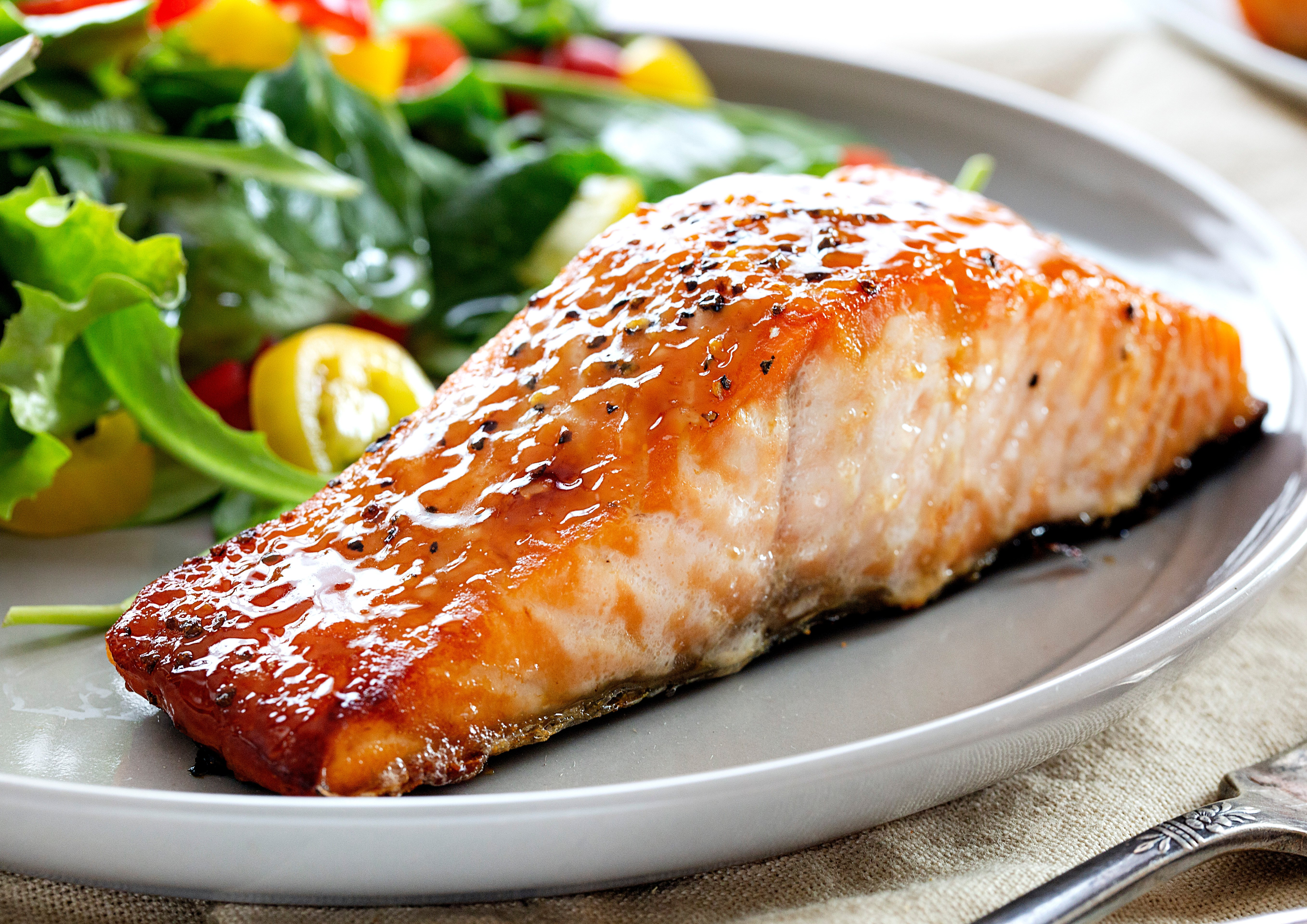 Brown Sugar Glazed Salmon Recipe