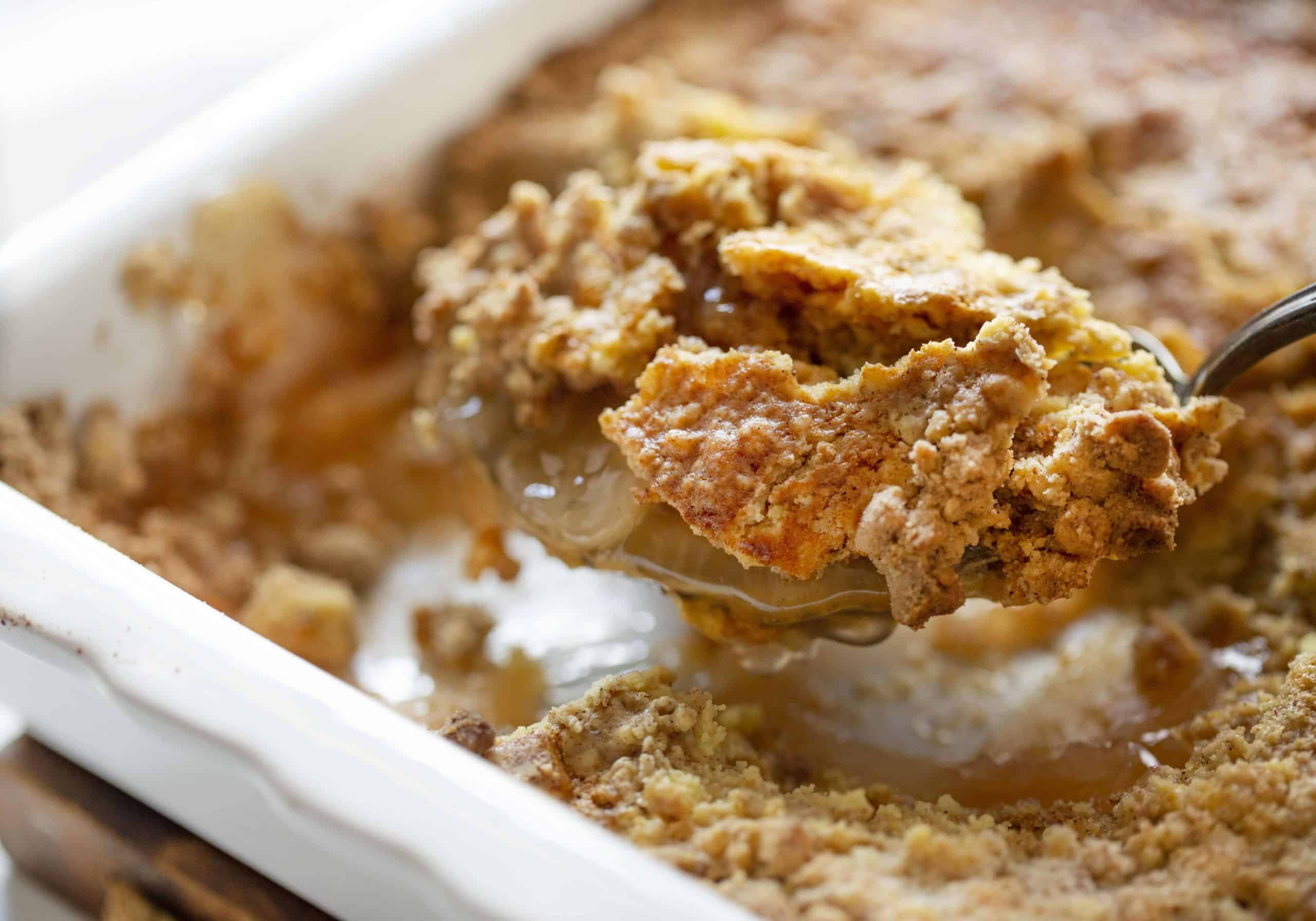 How to Make Apple Dump Cake