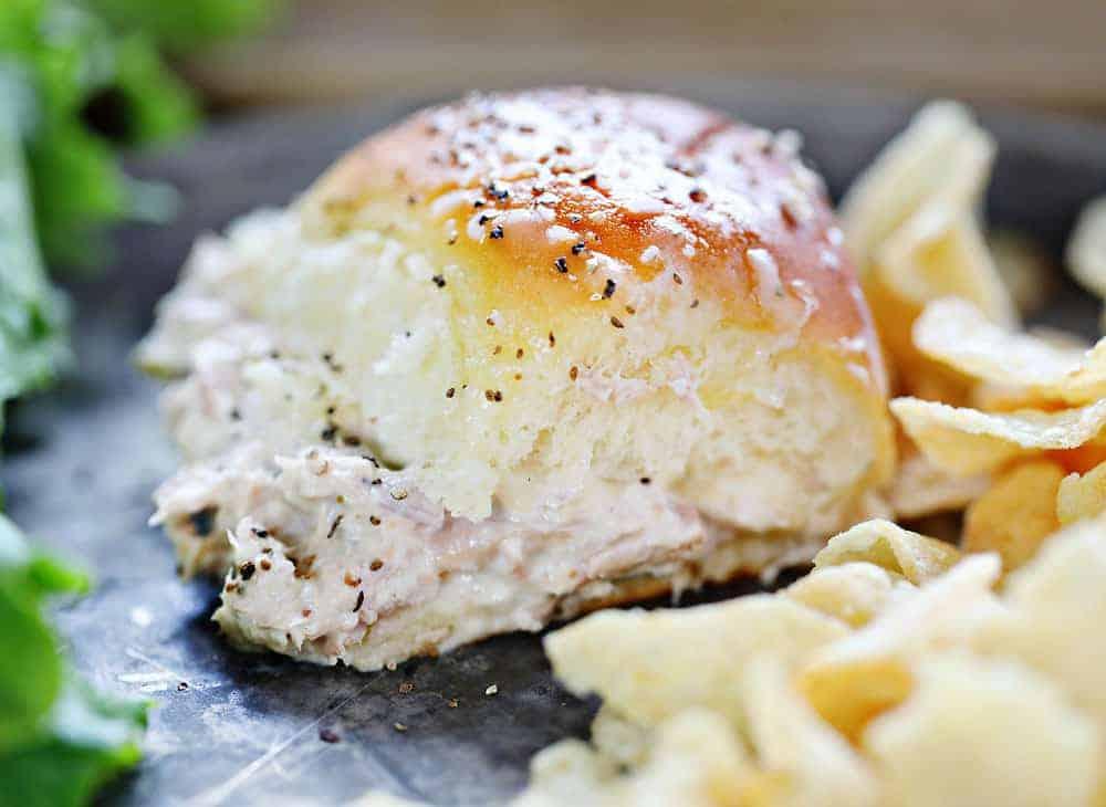 Tuna Slider Recipe