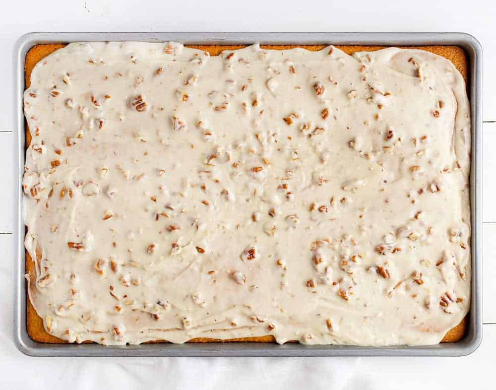 Almond Pecan Frosting