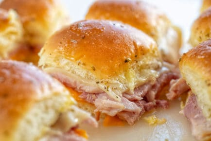 ham and cheese slider