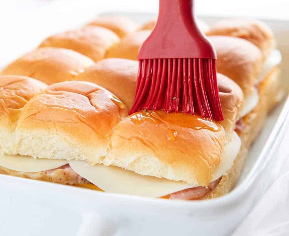 Easy Ham and Cheese Slider