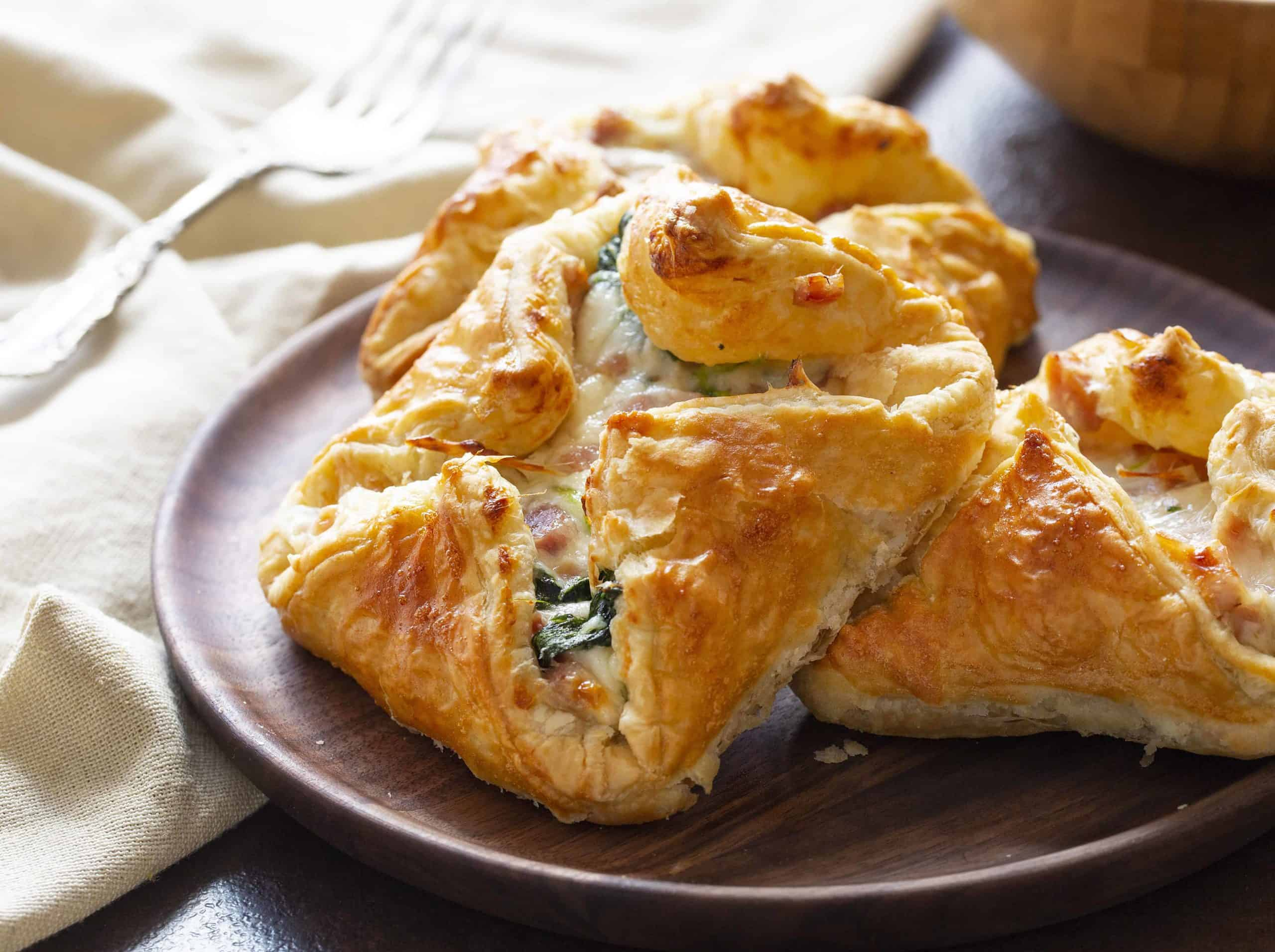 Ham and Cheese Pastry Puff