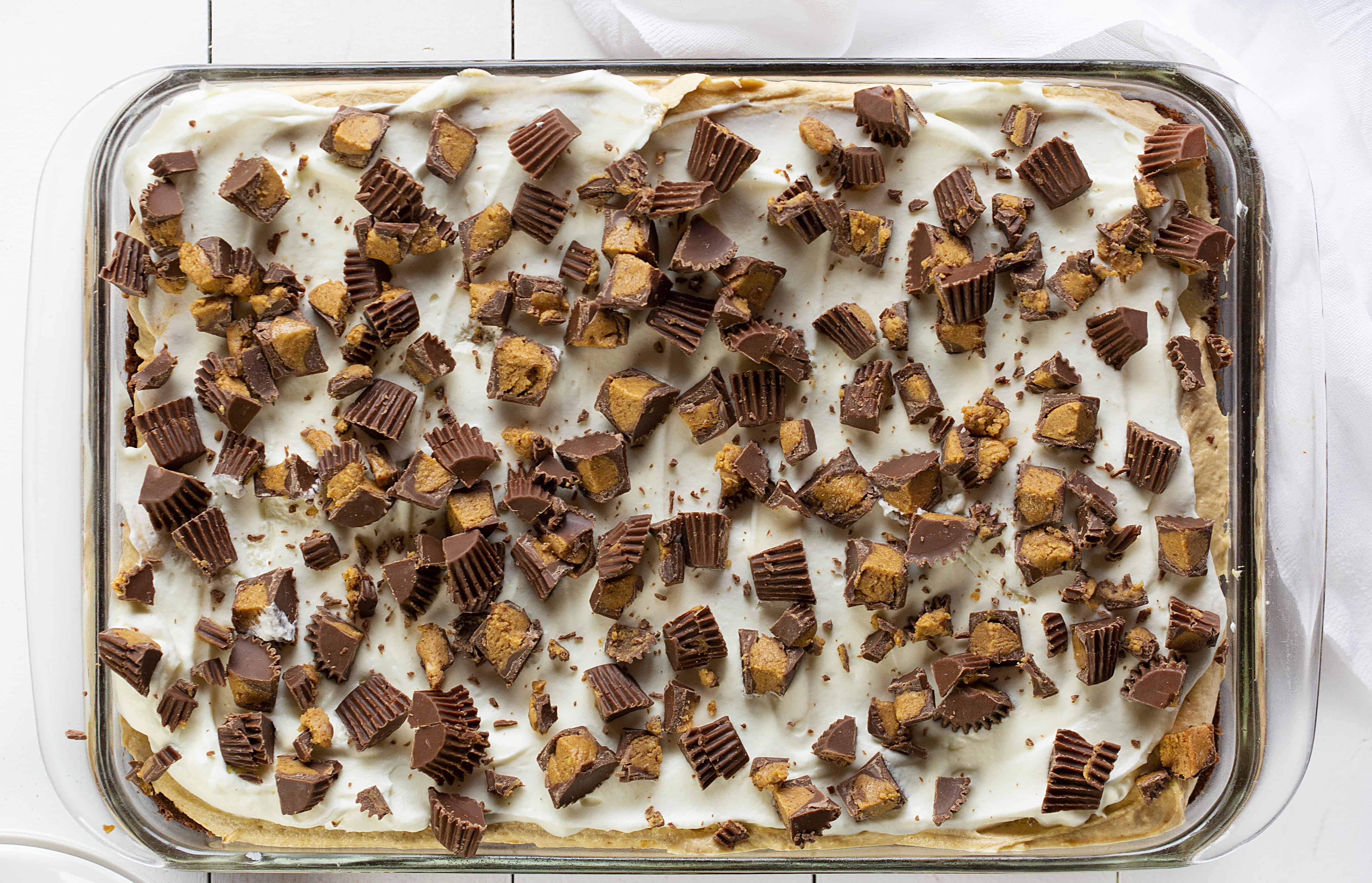 Brownie Peanut Butter Dessert Recipe