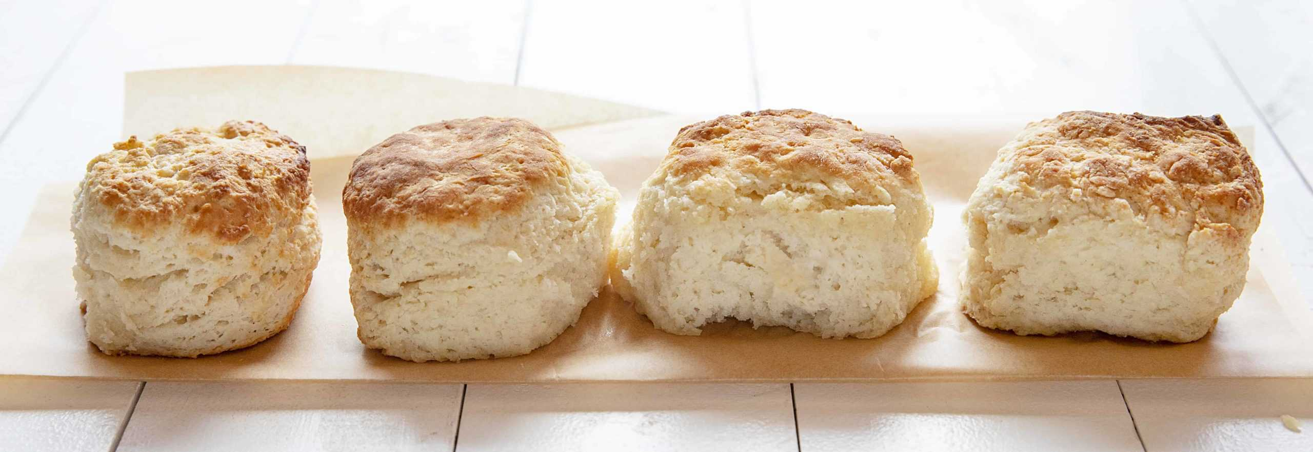 Homemade Buttermilk test with Buttermilk Biscuits