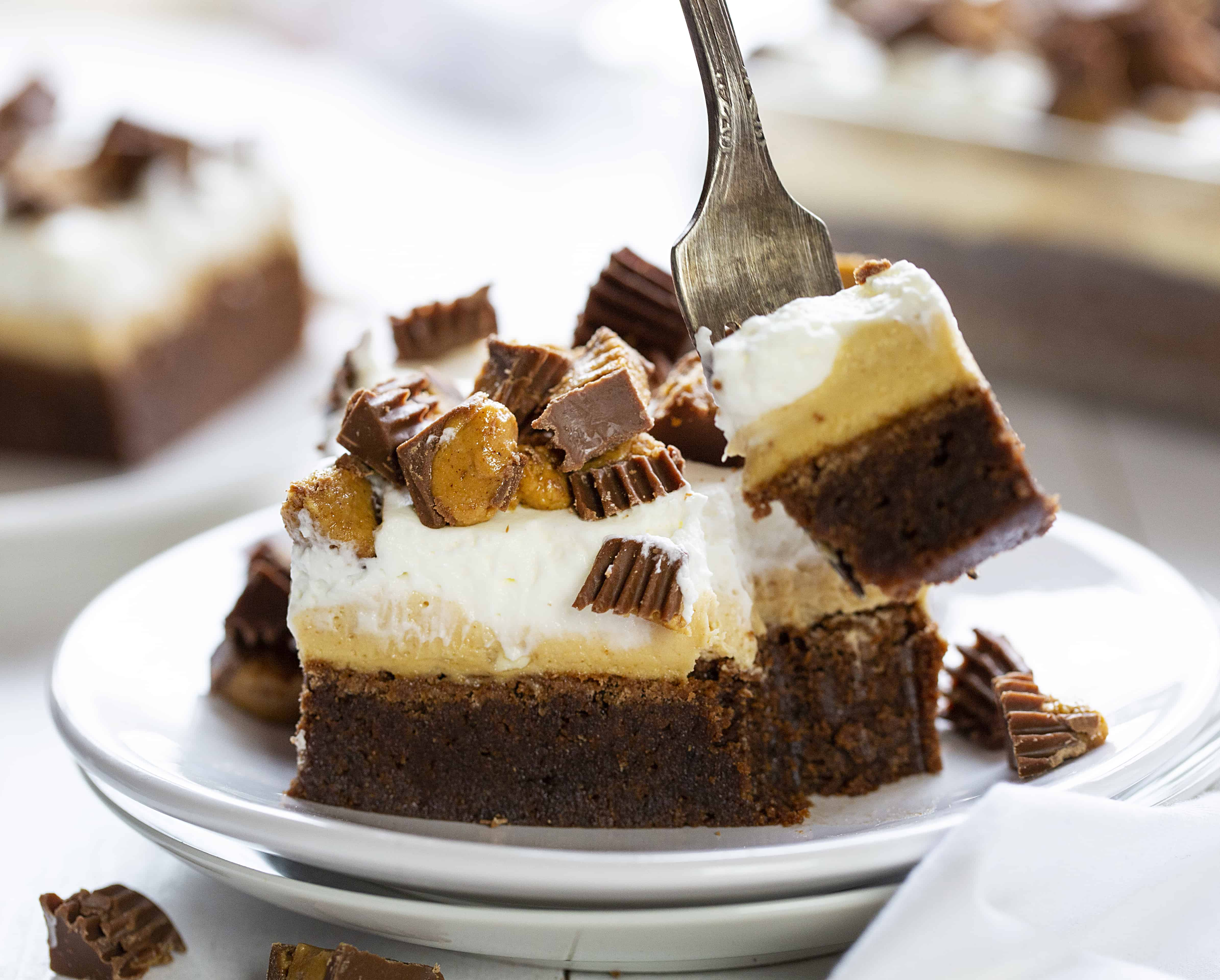 Peanut Butter Brownies Dessert