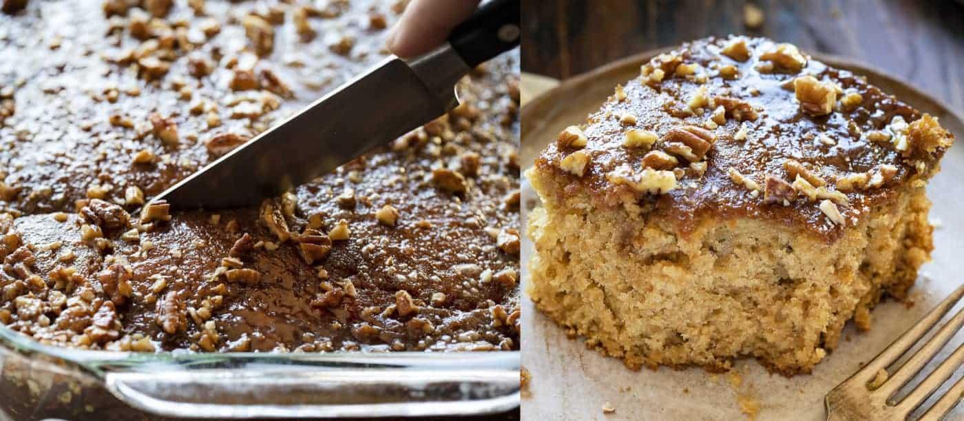 Pecan Buttermilk Cake