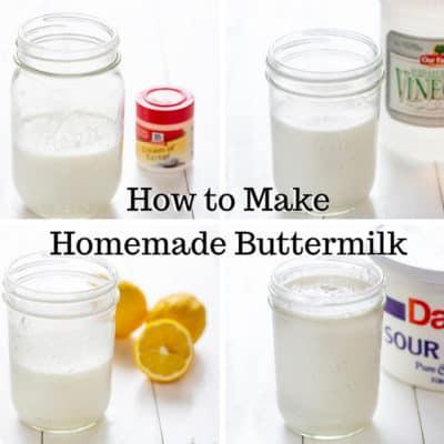 homemade buttermilk