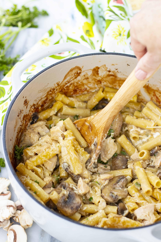 Chicken Marsala Casserole