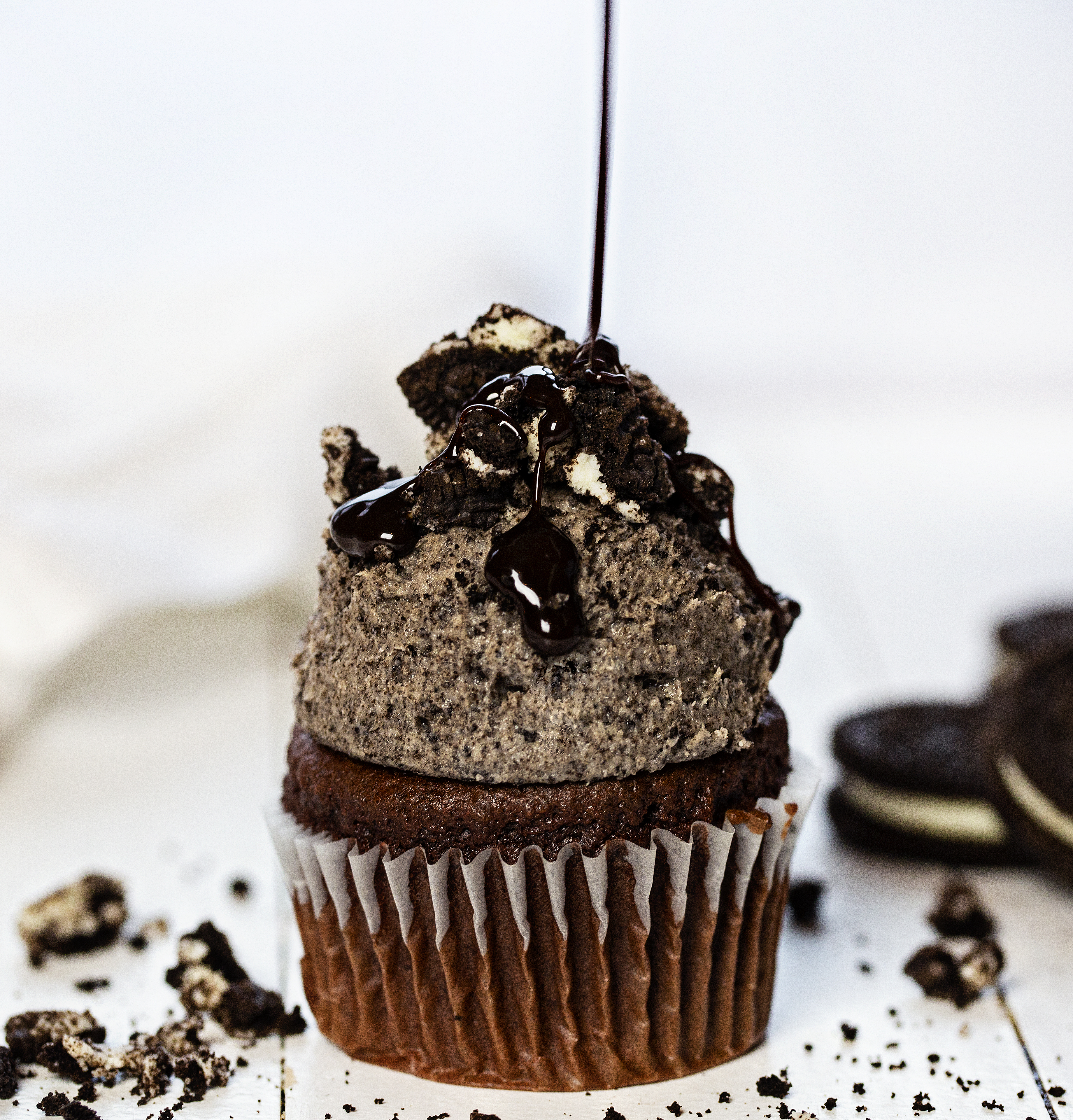 Chocolate Cupcake with Oreo Buttercream Recipe
